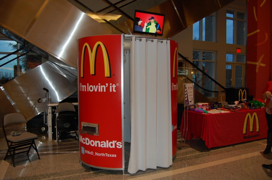 McDonald's Photo Booth